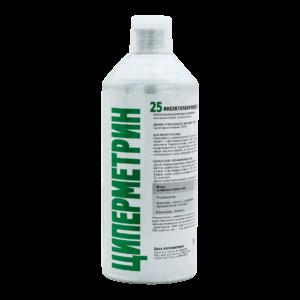 ЦИПЕРМЕТРИН 25 профессиональный инсектоакарицид, алюминиевый флакон 1 л